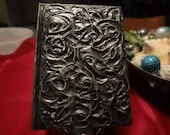 Gold Silver Swirl Journal Diary Notebook Lined Vine Mysterious 5x7