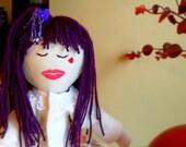 SUGARPLUM HOPE DOLL Rag Doll Hand Crafted