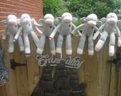 Six Sock Monkeys 4 Heather