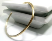 Twig Cuff. Bracelet. Brass. MADE TO ORDER.