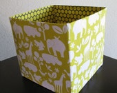 Modern Baby Toy Box- Down By the Banks Collection