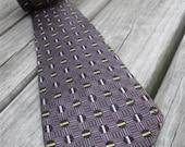 vintage men's necktie - skinny tie - 1950's - rockabilly