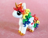 Rainbow Unicorn - Made to Order