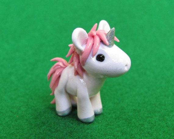 Pink Baby Unicorn Figurine
