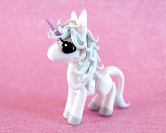 RESERVED listing for xMonochromeGirl - Mini Unicorn