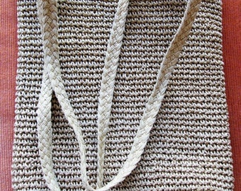 Rope Bag. Handmade.Marbellas