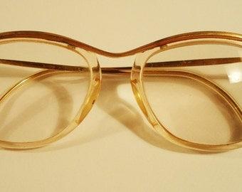 French Optical Eyeglasses. 50s