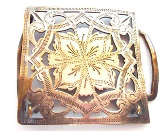 French Buckle.50s.Super Chic