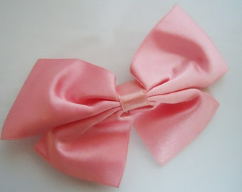 Ribbon Hair Clip.80s.Authentic Harajuku.Japan