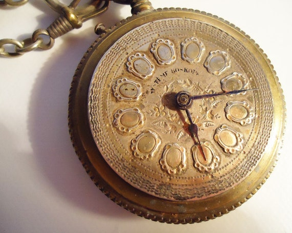 Antique pocket Watch - circa 1890s-1900s - Possibly Russian