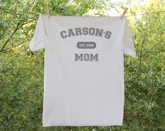 Personalized- Mom Shirt - Established in...
