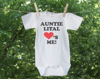 Someone Loves Me Personalized Infant Bodysuit