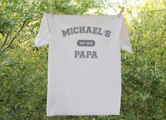 Grandpa Established In Personalized Shirt