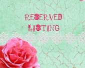 Reserved Listing for Mwerve
