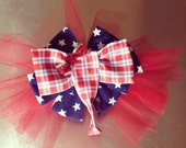 Republican Convention Jumbo Elephant Bow for a corsage or Hat pin