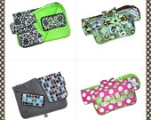 Travel Changing Pad Wipes Case, Diaper Bag Gift Set, Personalization included, DESIGN YOUR OWN