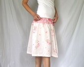 Women's Swing Skirt - Sweetie Pie - Upcycled from Vintage Linens