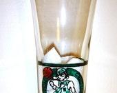 Boston Celtics Hand Painted Beer Glass  Pilsner Style 16 Oz Basketball