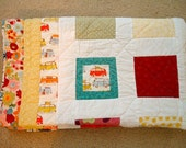 Clearance,VW Bus lap or toddler quilt, was 150.00