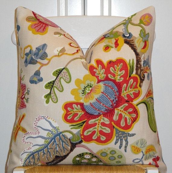 Beautiful Decorative Throw Pillows : Beautiful Decorative Pillow Cover 20x20 Throw Pillow