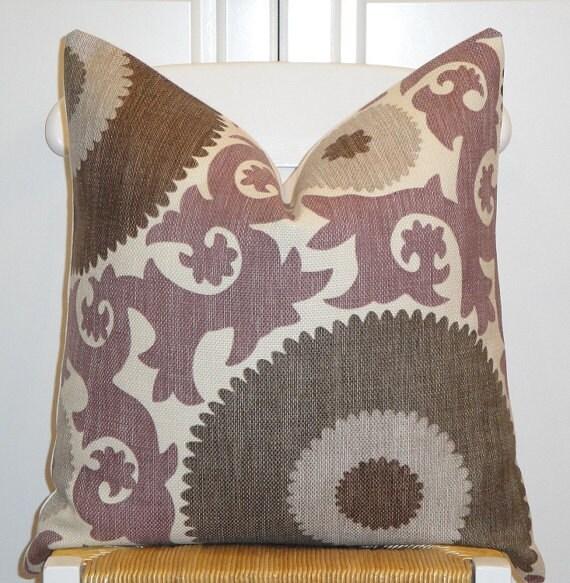 Beautiful Decorative Throw Pillows : Beautiful Decorative Pillow Cover Suzani Throw Pillow