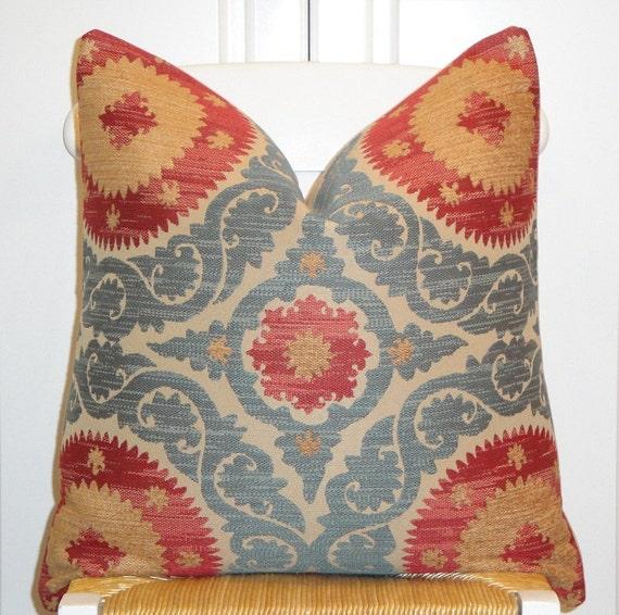 Beautiful Decorative Pillow Cover 20 x 20 Designer Fabric