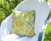Throw Pillow in Spring Colors