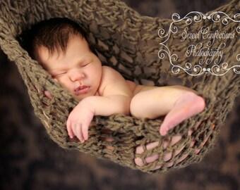 Chunky Newborn Hammock Crochet Pattern