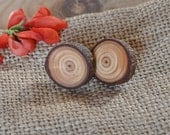 natural  larch  wood earrings ... - WoodsOfNarnia