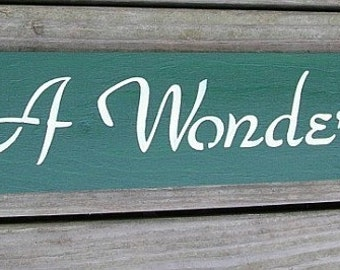 Its A Wonderful Life Inspirational Wood Sign Wall Decor