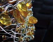Genuine Baltic Amber Bracelet - In the Net