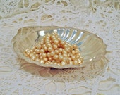 Vintage Shell Dish, Silver Plate