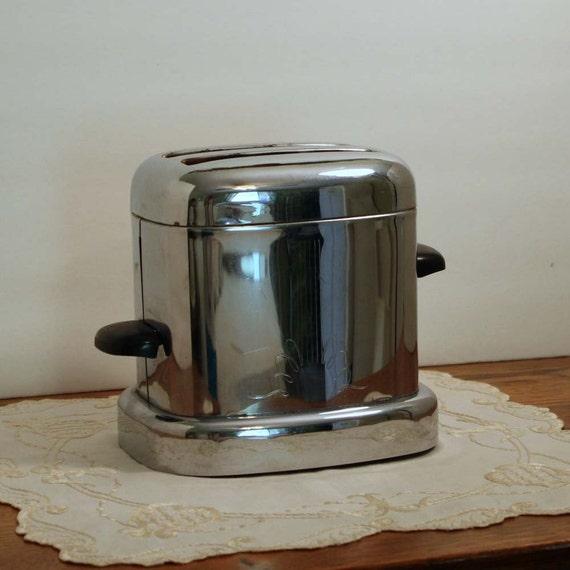 Chrome Toaste Art Deco Style Vintage Kitchen circa 1950s