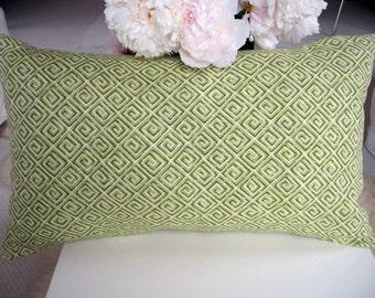 Greek Key Pillow Cover