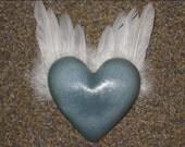 Ginger Soap, Heart, All Natural, HUGE  Paraben-free No SLS