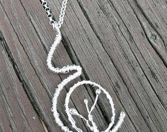 Seeded Womb. A Pregnancy Necklace.