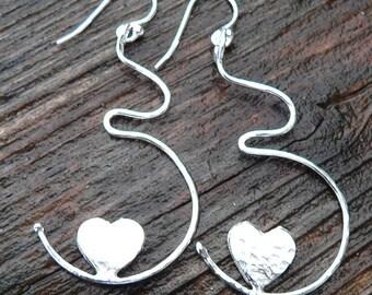 Growing Love Pregnancy Earrings