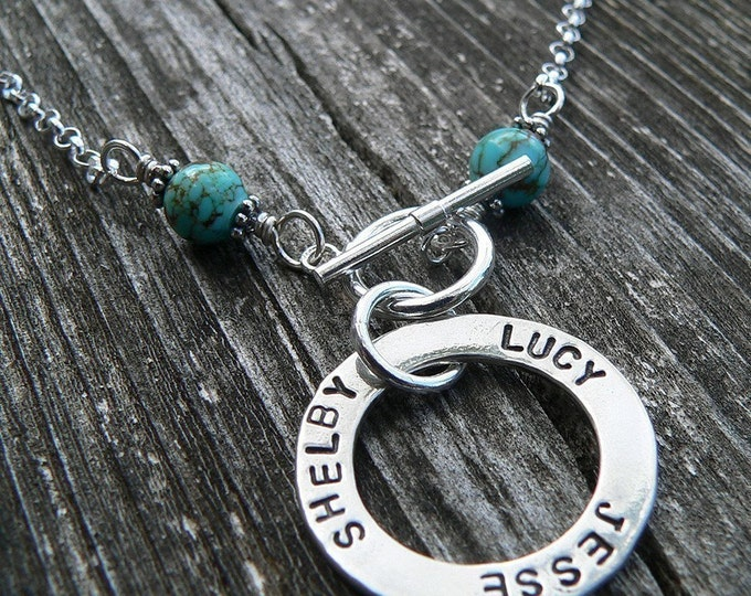 The Mother's Circle - Limited Turquoise Edition - 9 Font Choices