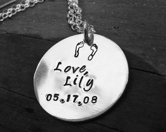 I am With You Always... Sterling Remembrance/Loss Necklace