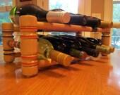 Vintage Croquet Wine Rack