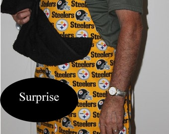 Pittsburg Steelers apron Adult Content