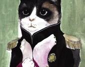 Elegant Cat - Ltd Edition Large Print 11x17