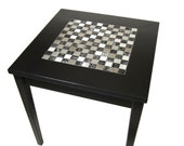 Stainless Steel Tile End Table Furniture