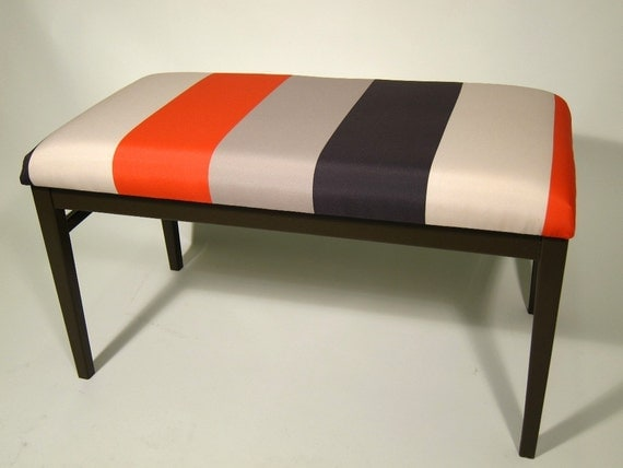 items similar to upholstered bench bedroom bench 11190 | il 570xn 264332229