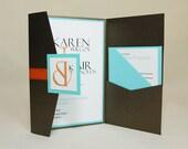 Minimalista- Modern Ampersand Wedding Invitation - (Digital Sample)