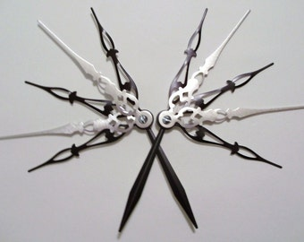Radiance Monochrome Hair Pick Set Steampunk Accessory