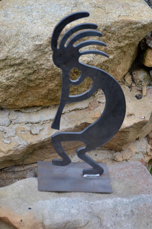 Kokopelli Metal Sculpture