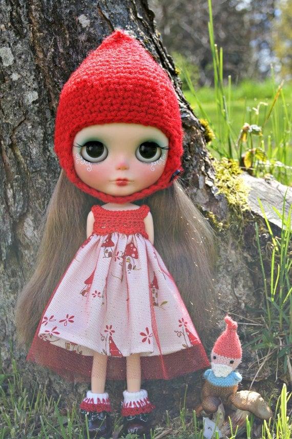 OOAK Custom Urban Cowgirl Gnome Doll by Kaleidoscope Kustoms