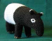 Knit Malayan Tapir