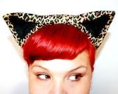 Leopard Cat Ears, Headband